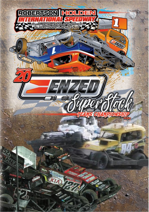 2020 ENZED/Dewtec Superstock Teams Champs Finals + Burger King Pro Dirt Super Saloon Series DVD
