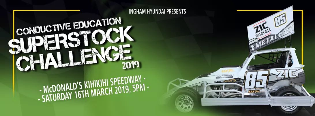 Kihikihi Speedway - Conductive Education Superstock Challenge