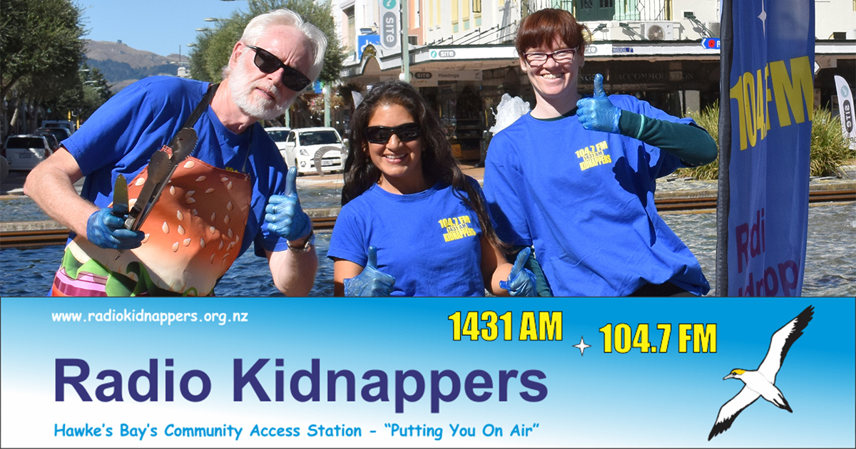 Radio Kidnappers | 1431AM and 104 7FM The Voice Of Hawkes