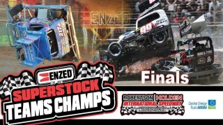ENZED/Dewtec Superstock Teams Champs Finals + Burger King Pro Dirt Super Saloon Series